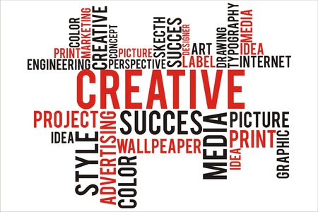 changes in equity: creative word cloud concept