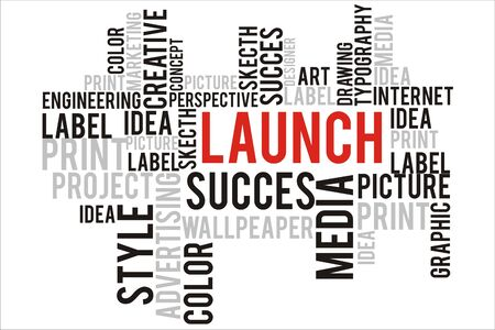 changes in equity: launch wordcloud concept