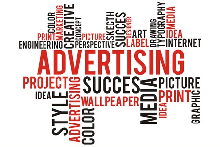 changes in equity: advertising word in wordcloud concept