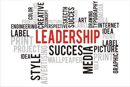 changes in equity: leadership word in wordcloud concept