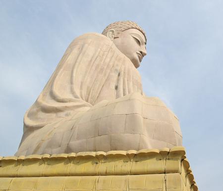 bodhgaya: Giant Buddha, Bodhgaya