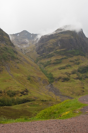 Scottish Highland landscape photo