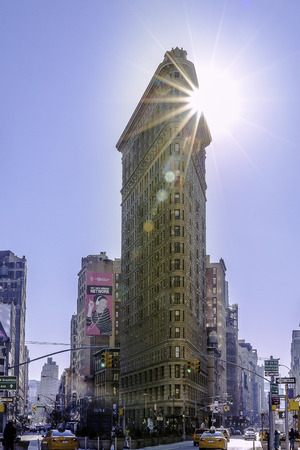 flatiron: Flatiron in New York city