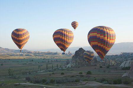 Cappadocia Four Balloons