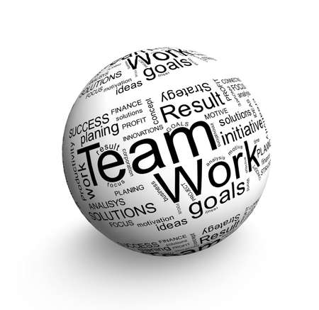 Team work ball Stock Photo - 12833075