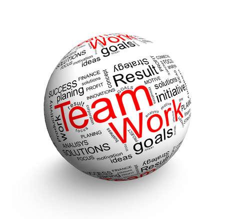Team work ball Stock Photo - 12833072