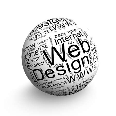 Web Design ball Stock Photo - 12833089