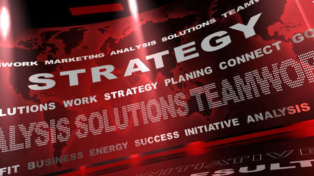 Strategy Stock Photo - 12833088
