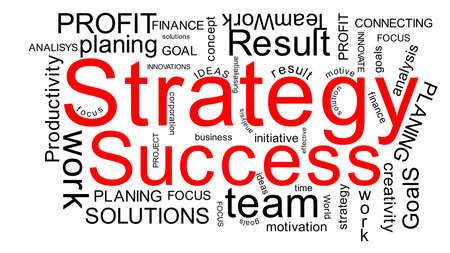 Strategy success Stock Photo - 12833084
