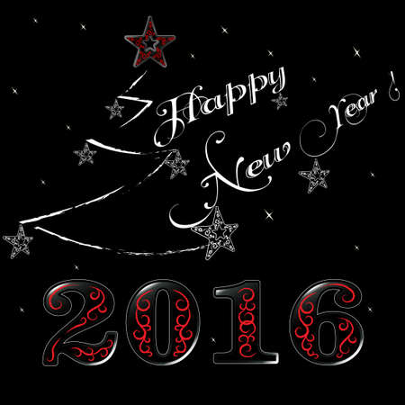 2016 - New Years greeting card
