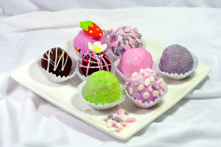 chocolaty: cake ball fancy