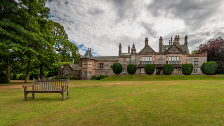 The Lauriston Castle was build in the 16th century. Editorial