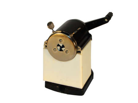 a old manual pencil sharpener Stock Photo - 2355101