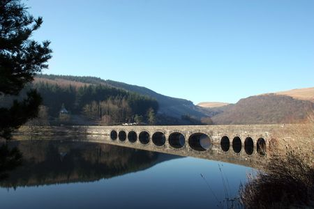 Bridge Over Still Waters at the Elan Valley
