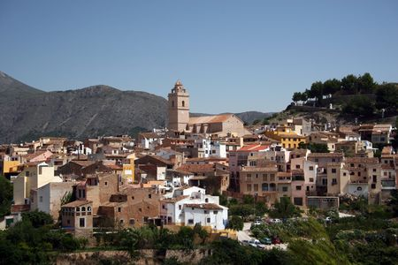 Mountain Village of Polop, Spain