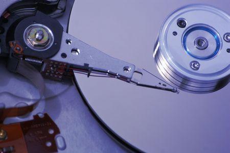 Hard Disk Drive Internals Stock Photo - 5193912