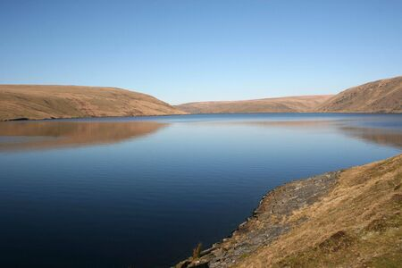 Still Reservoir Waters at the Elan Valley