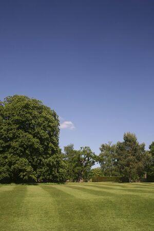 An English Country Garden Stock Photo