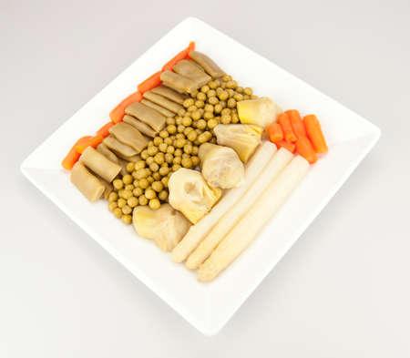 stew: Vegetable stew Stock Photo