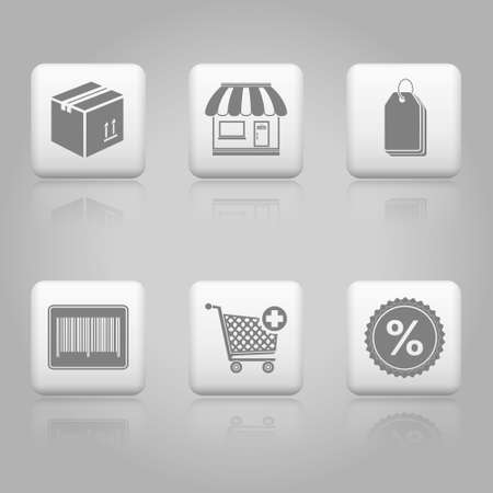 Shopping buttons for website   on-line store