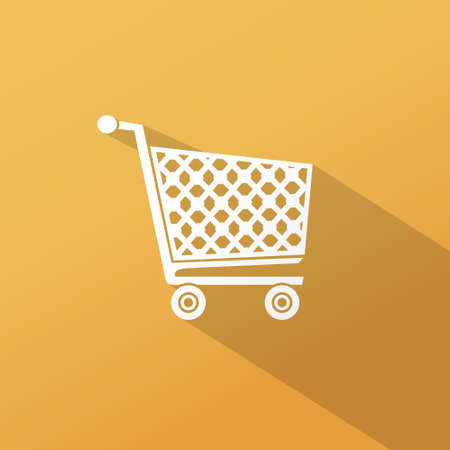 grocery cart: Shopping cart icon