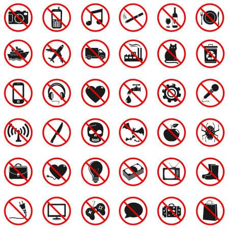 money cat: Establecer Signos prohibidos