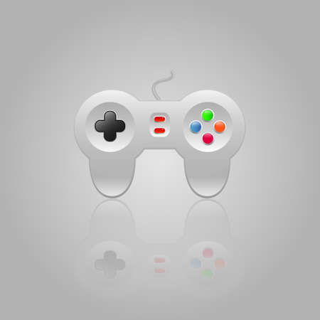 Joystick icon Illustration