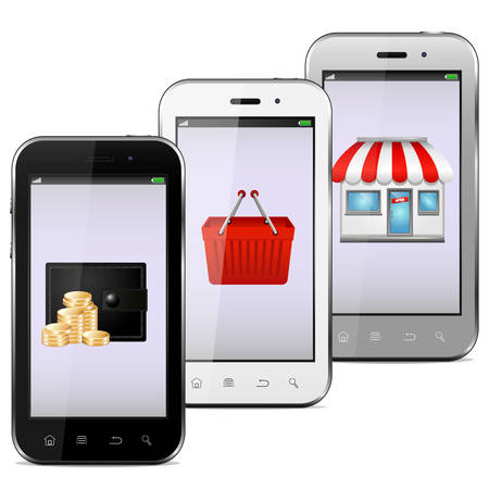 Mobile phones Stock Vector - 26330069