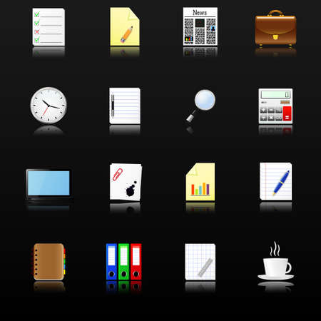 datebook: Business and office icons