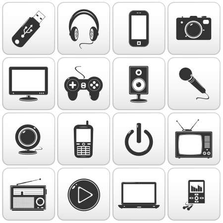Technology icon - web buttons Vector