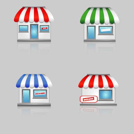 frontdoor: Shop icons