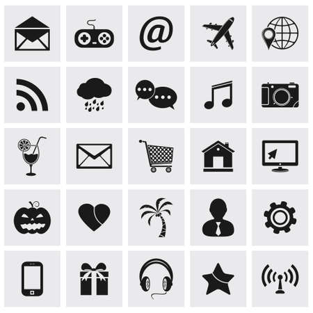 Icons for web site  Vector