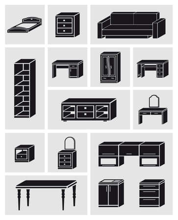 settee: Furniture icons