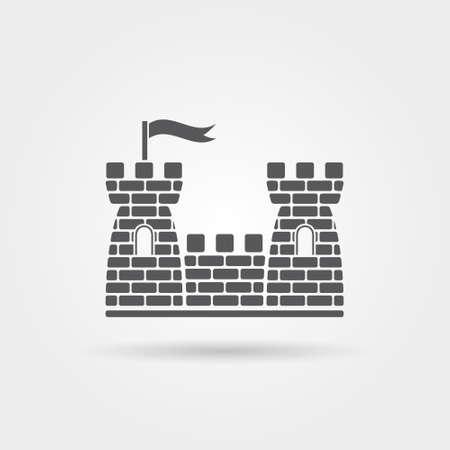 Castle Icon 向量圖像