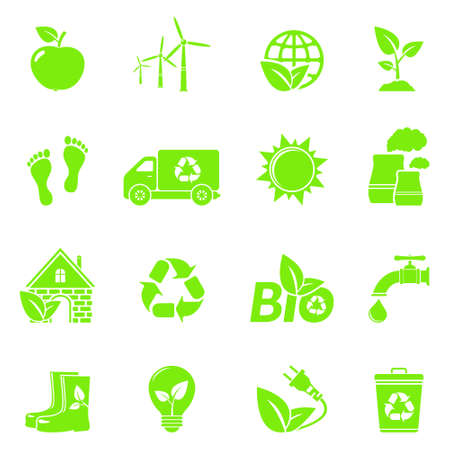 Vector Eco Icons Vector