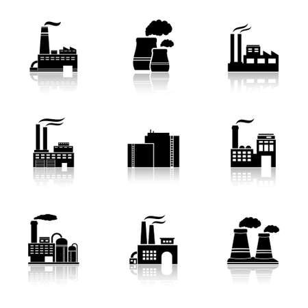 Vector factory icons