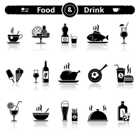 restaurant icon: Food & drink icons