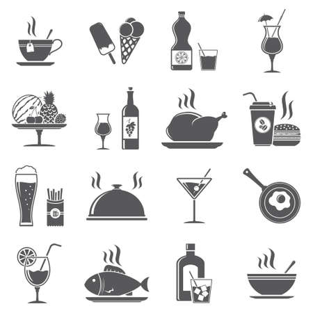 Drink and food icons