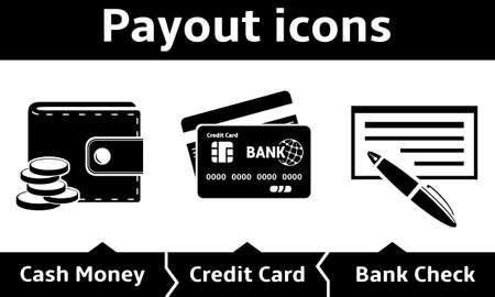 payout: Iconos de Pago