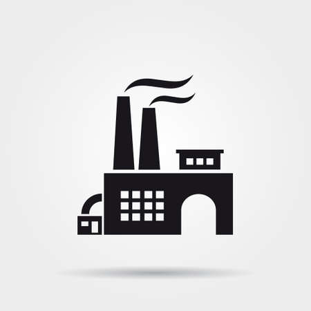 nuclear power plant: Factory icon
