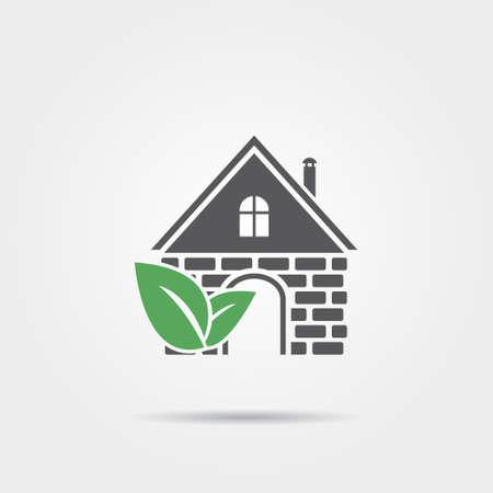 eco home: Eco home icon