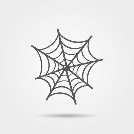 spider net: spider web icon