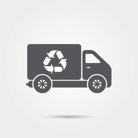 reciclar: Recycle Truck Icon