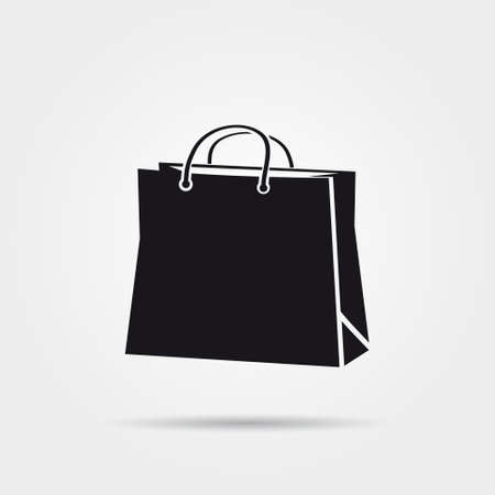 gift bags: shopping bag icon