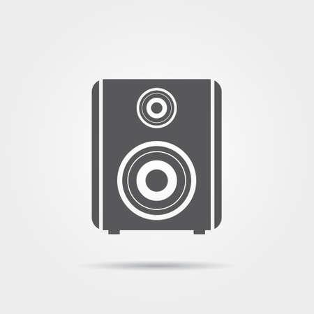 speaker icon: Audio speaker icon Illustration