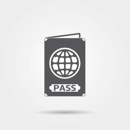 passeport: ic�ne de passeport