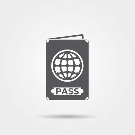 passport: passport icon Illustration