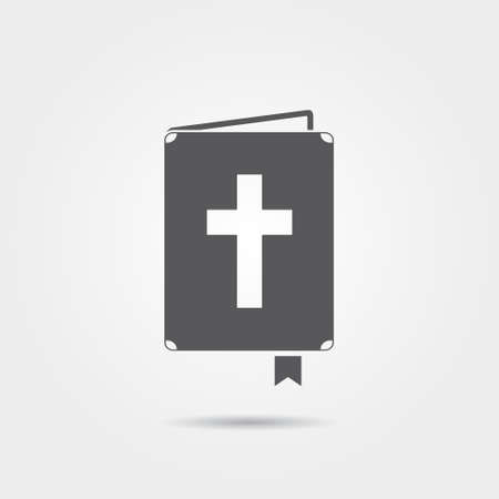 bible book: Bible book icon Illustration