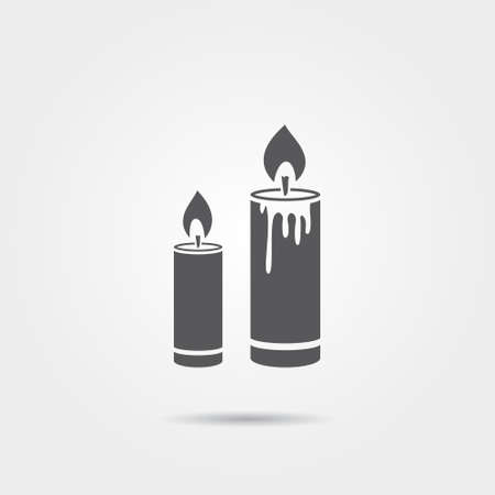 candlelight memorial: Candles icon
