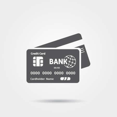 クレジット カード アイコン  イラスト・ベクター素材